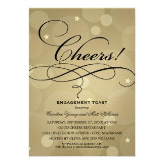 Tema del fiesta de compromiso del boda el Champá Anuncio