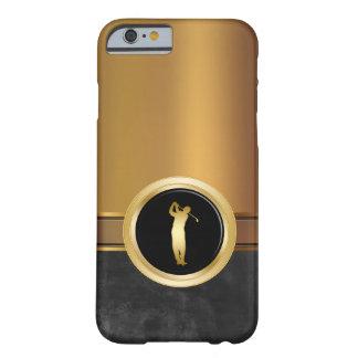 Tema del golf de los hombres de lujo funda barely there iPhone 6
