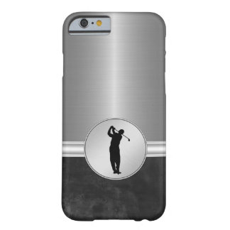 Tema del golf de los hombres de lujo funda de iPhone 6 barely there