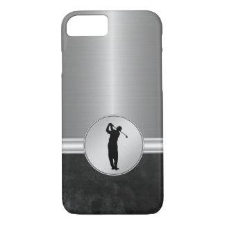 Tema del golf de los hombres de lujo funda iPhone 7