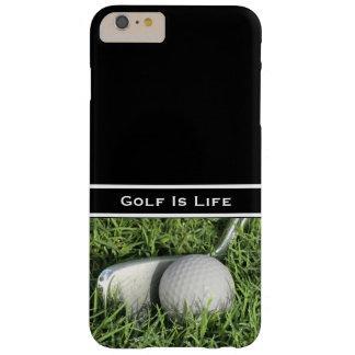 Tema del golf del negocio funda para iPhone 6 plus barely there