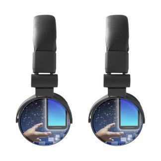 Tema del negocio auriculares