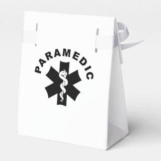 Tema del paramédico cajas para regalos de fiestas