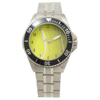 Tema del tenis relojes de pulsera