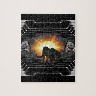 Tema del vídeo musical de la pantera negra puzzle