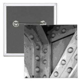 Tema Digital Art. de la construcción Pin Cuadrada 5 Cm