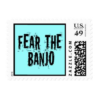 Tema el banjo sellos