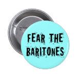 Tema el botón de la música de los barítonos pin