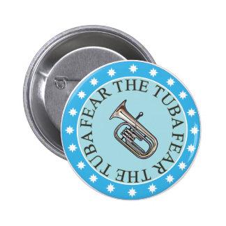 Tema el botón de la tuba pins