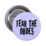 Tema el botón de Oboes Pin