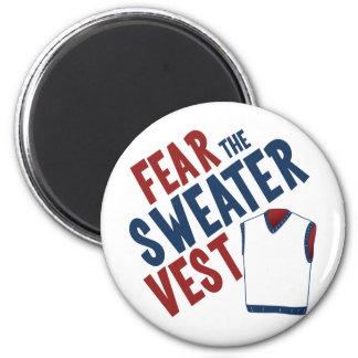 Tema el chaleco del suéter iman para frigorífico