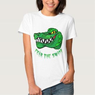 Tema el cocodrilo del pantano remera