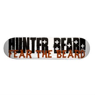 Tema el tablero de la barba tabla de skate