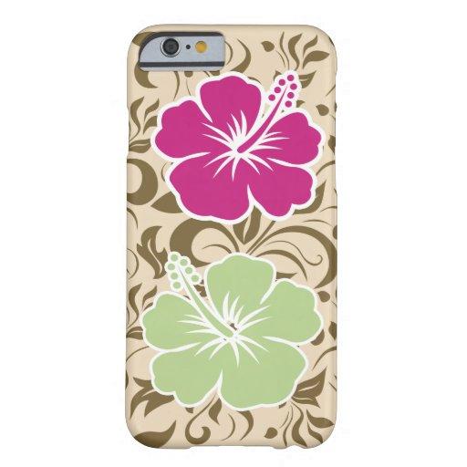 Tema hawaiano fresco funda de iPhone 6 barely there