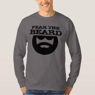 Tema la camisa de la barba para los hombres de