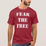 Tema la camiseta del árbol