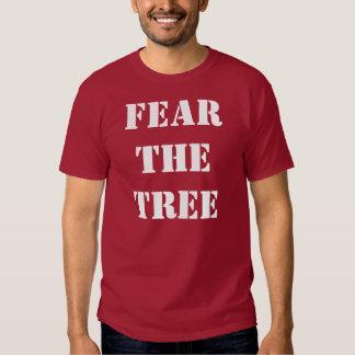 Tema la camiseta del árbol playeras