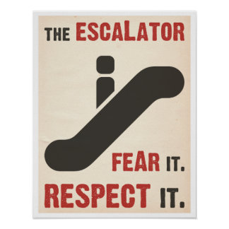 Tema la escalera móvil posters