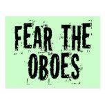 Tema la postal de Oboes