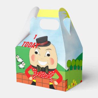 Tema lindo de la poesía infantil de Humpty Dumpty Caja Para Regalo De Boda