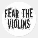 Tema los violines pegatina