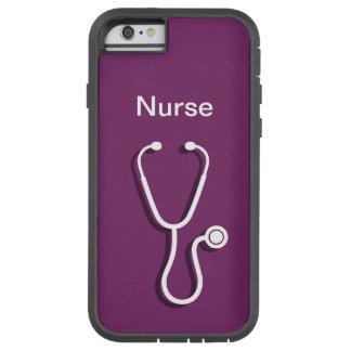 Tema médico de la enfermera funda de iPhone 6 tough xtreme