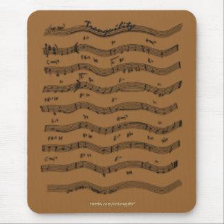 Tema Mousepad de la música de la PARTITURA Tapetes De Ratones