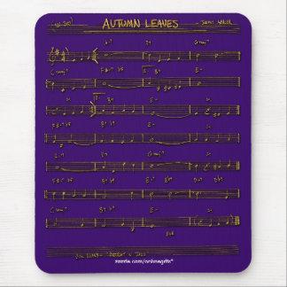 Tema Mousepad de la música de la PARTITURA Tapetes De Ratón