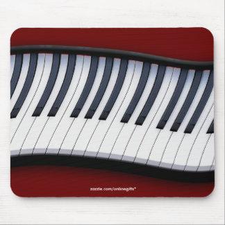Tema Mousepad de la MÚSICA del TECLADO de PIANO Alfombrillas De Ratón