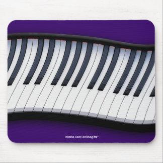 Tema Mousepad de la MÚSICA del TECLADO de PIANO Tapetes De Ratón