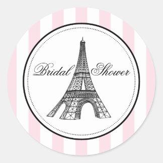 Tema nupcial del pegatina el | París Francia del