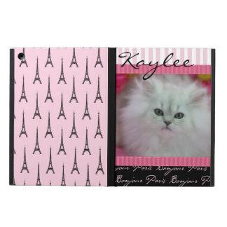 Tema precioso de París de los gatitos