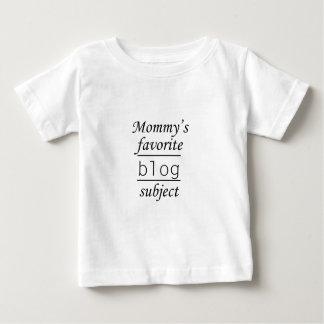 Tema preferido del blog de la mamá playeras