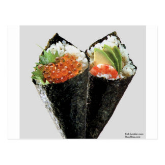 Temaki Sushi Fine Art Gifts Tees Mugs Cards Etc Postcards