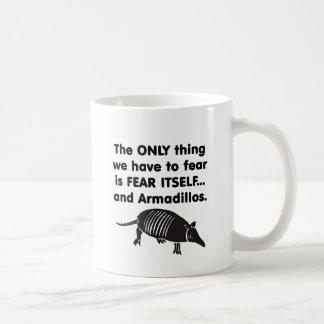 Témalo sí mismo Armdillos Taza De Café