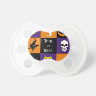 Temas de Halloween del truco o de la invitación Chupetes De Bebe
