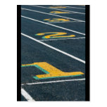 temas del atletismo tarjeta postal