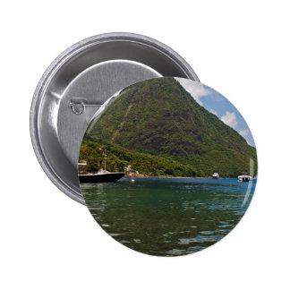 Temático del Caribe Pin Redondo 5 Cm