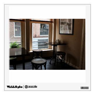 Temático interior, Caf� con las tablas iluminadas