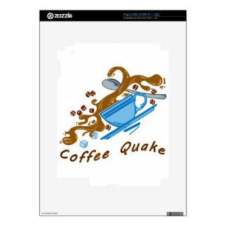 Temblor del café calcomanía para el iPad 2
