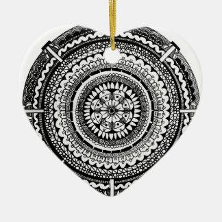 Temblor Negro Ceramic Ornament