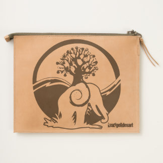 tembo pouch leather keangelidesart