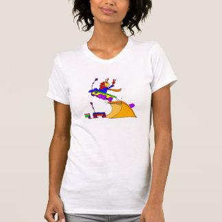 Temerario extranjero en rampa t shirts