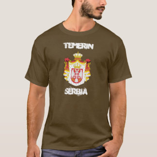 Temerin, Serbia with coat of arms T-Shirt