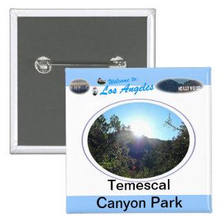 Temescal Gateway Park Pinback Button