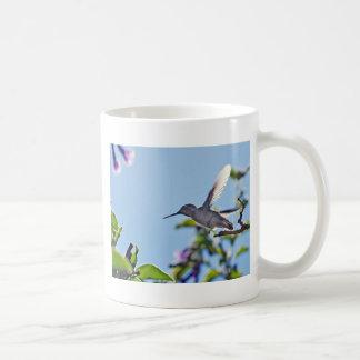 Temescal Hummingbird Classic White Coffee Mug