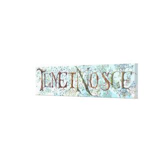 Temet Nosce Canvas Print