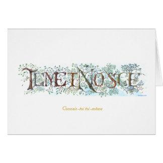 Temet Nosce - French Card