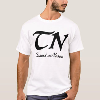 Temet Nosce White T T-Shirt