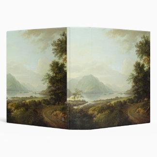 Temor del lago, Argyllshire, c.1780-1800 (aceite e